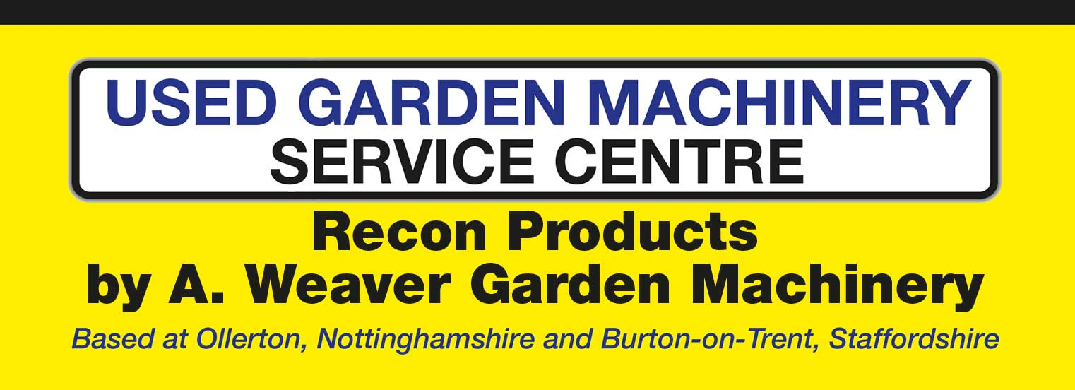 Used Garden Machinery, service, hires sales and repairs on mowers and horticultural equipment, Burton-on-Trent, Staffordhire and Ollerton, Nottinghamshire
